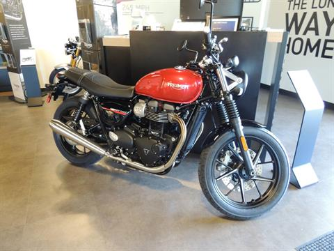 2019 Triumph Street Twin 900 in Shelby Township, Michigan - Photo 1