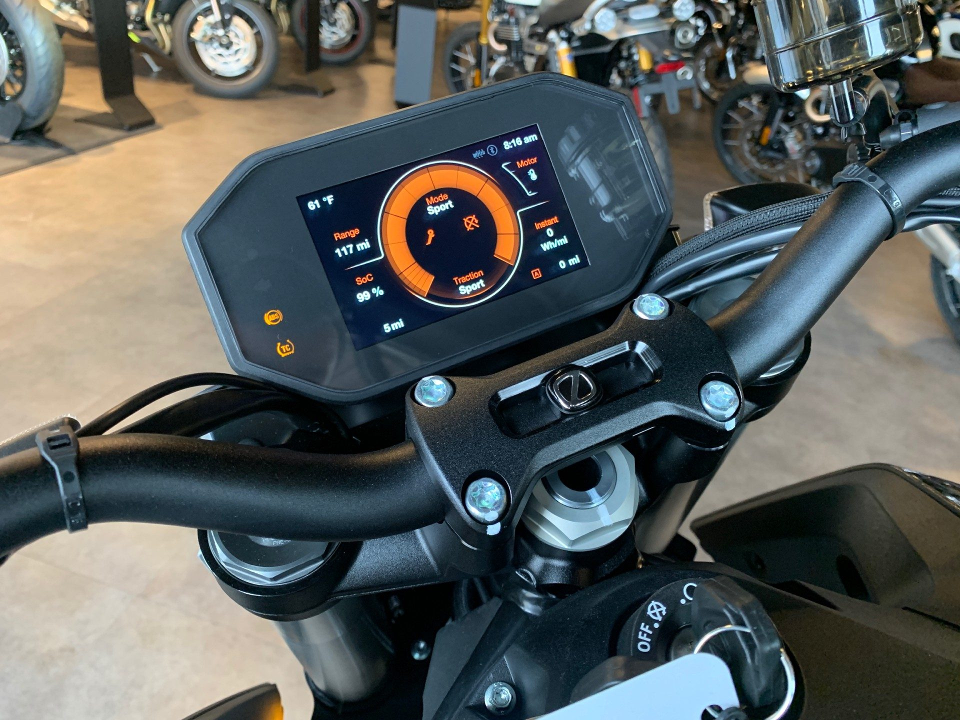 2021 Zero Motorcycles SR/F NA ZF14.4 Premium in Shelby Township, Michigan - Photo 10