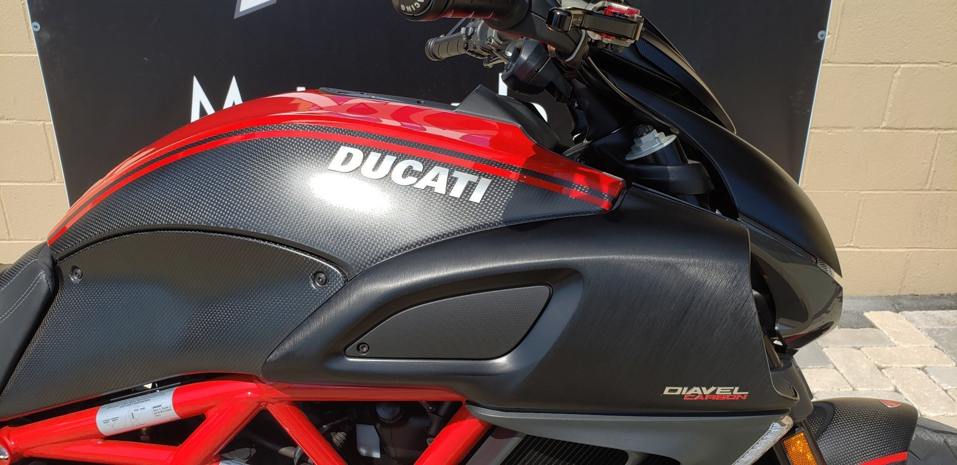 2013 Ducati Diavel Carbon in Shelby Township, Michigan - Photo 3