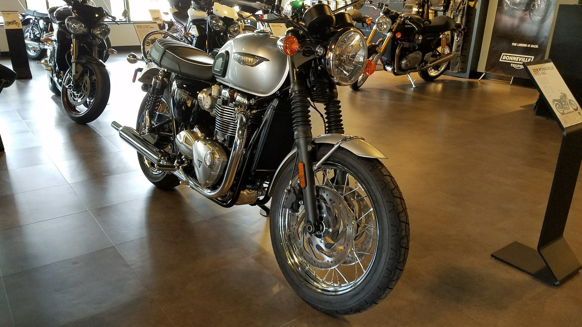 2018 Triumph Bonneville T120 in Shelby Township, Michigan