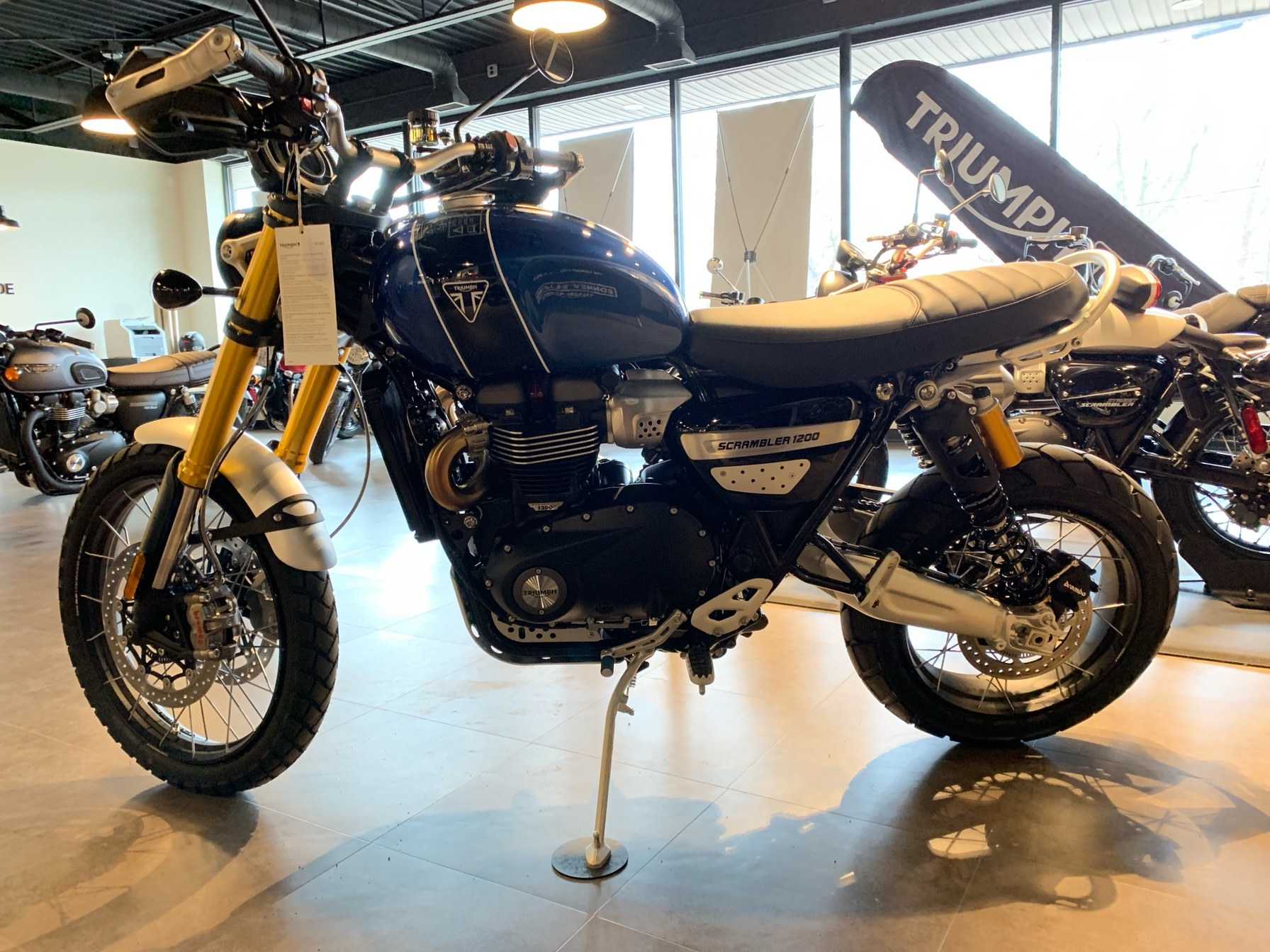2019 Triumph Scrambler 1200 XE in Shelby Township, Michigan - Photo 2