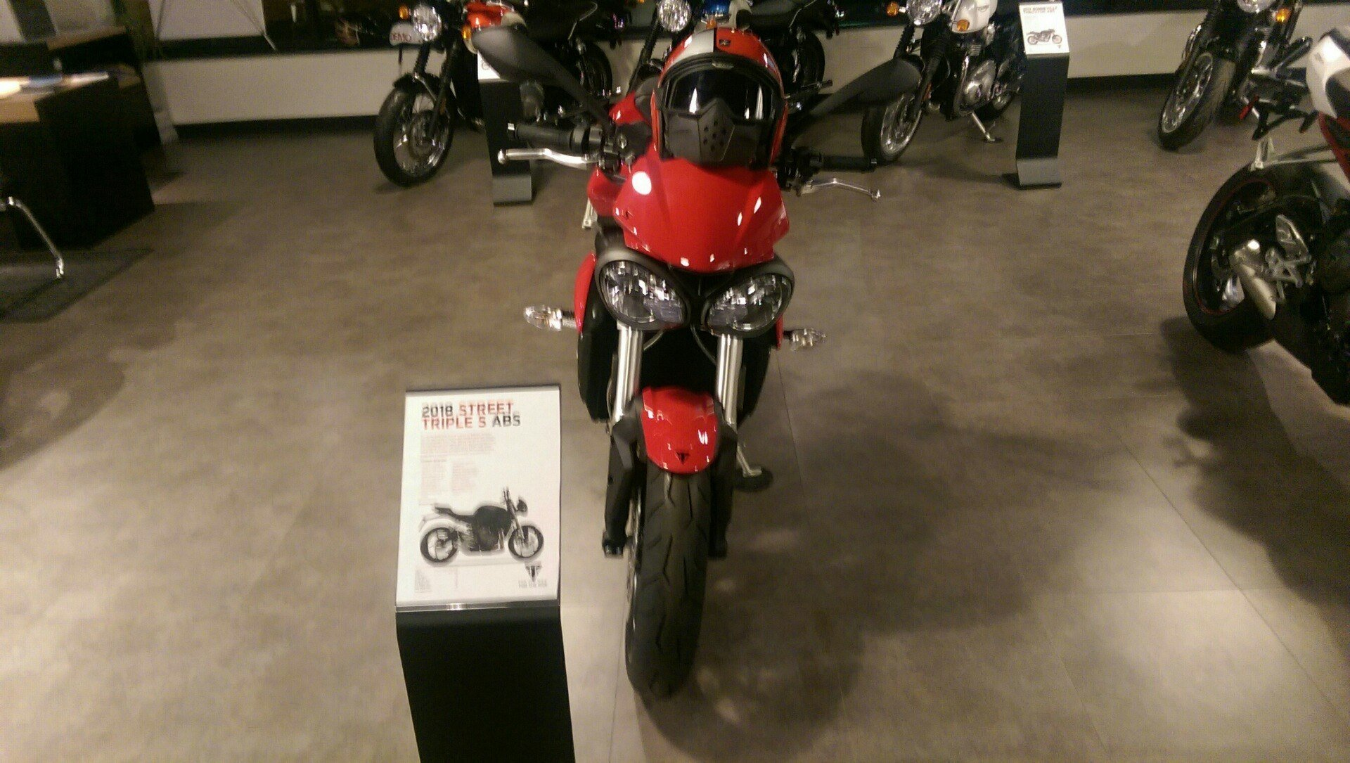 2018 Triumph Street Triple S in Shelby Township, Michigan