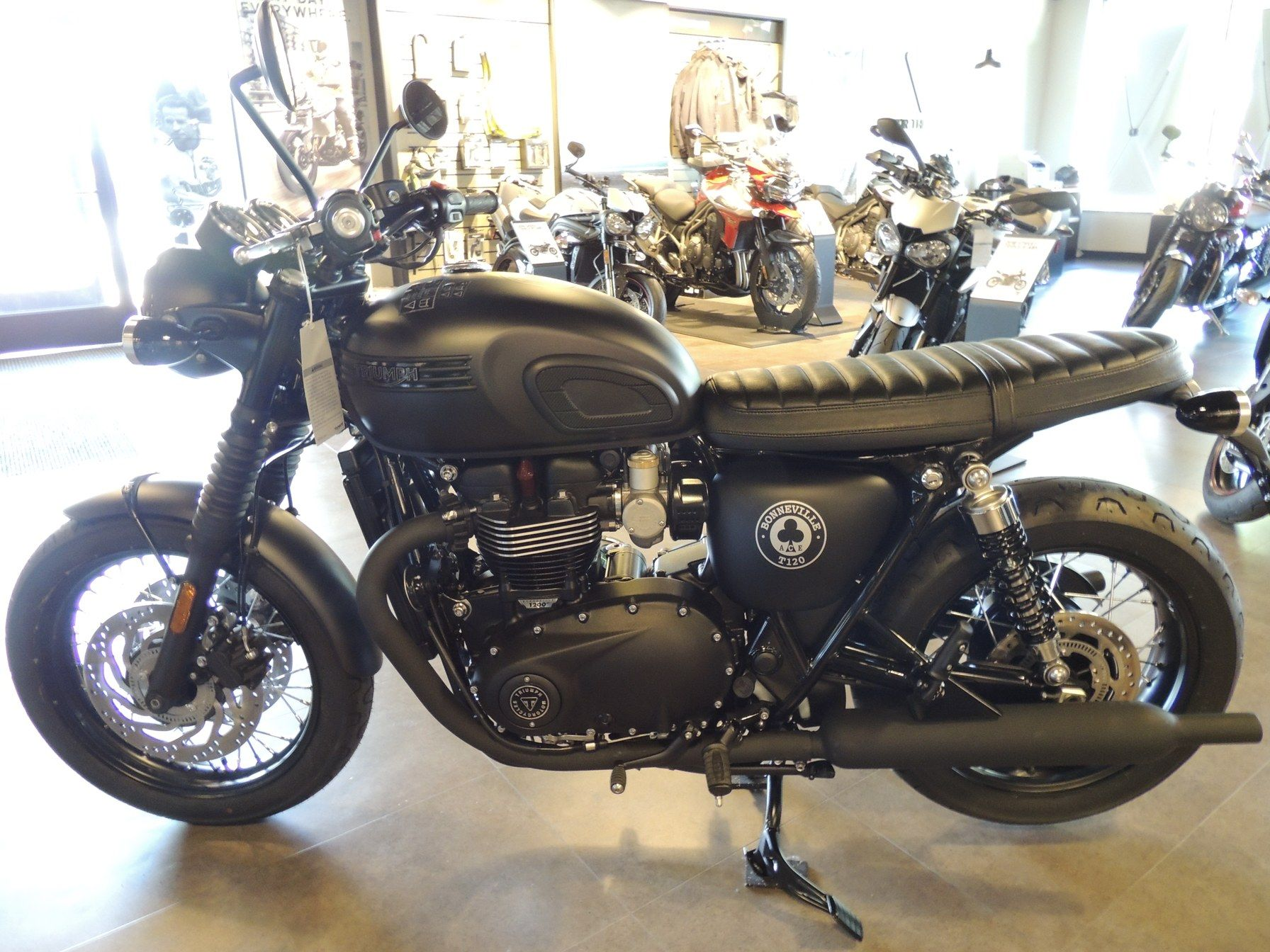 2020 Triumph Bonneville T120 ACE in Shelby Township, Michigan - Photo 1