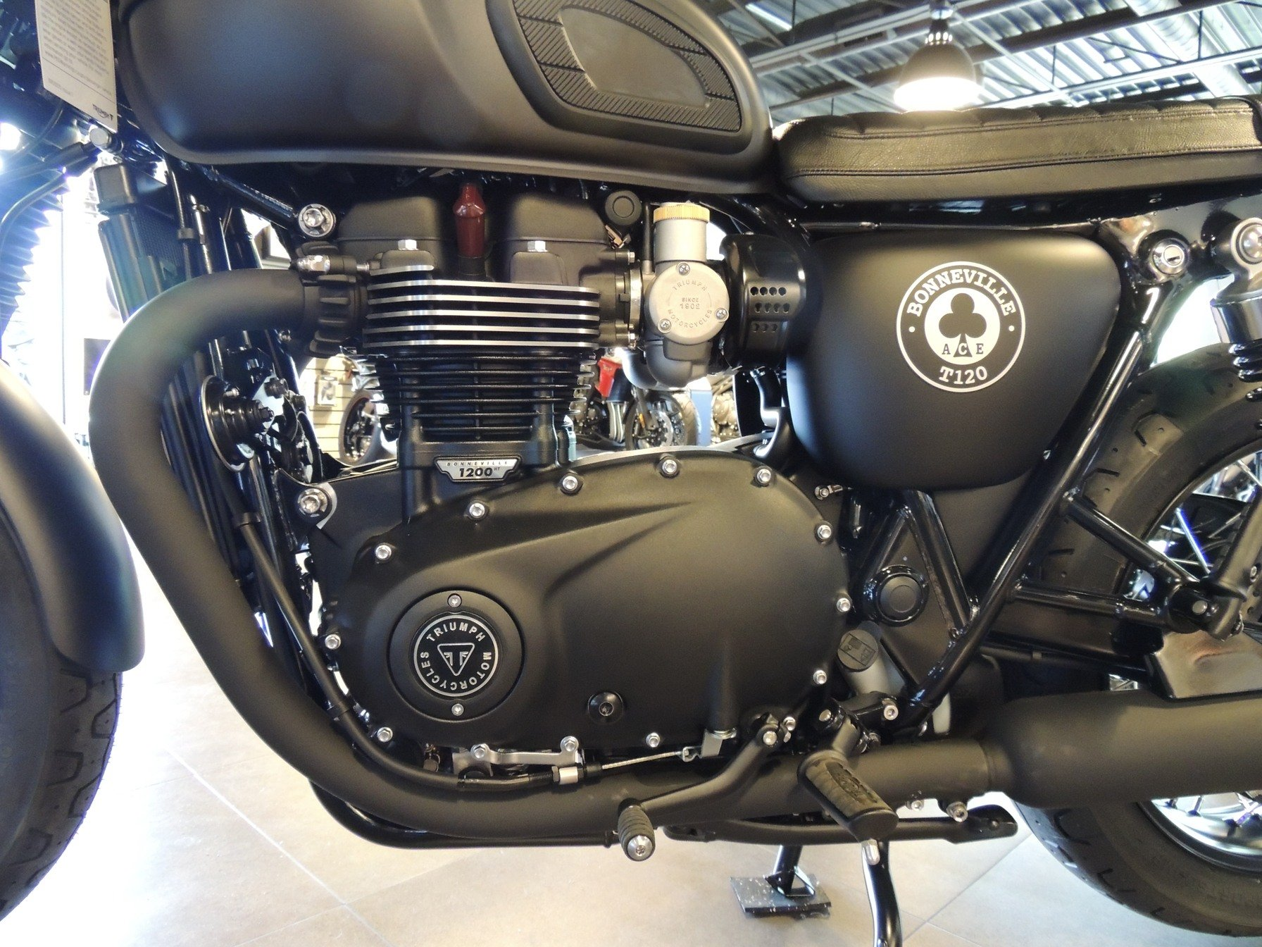 2020 Triumph Bonneville T120 ACE in Shelby Township, Michigan - Photo 3