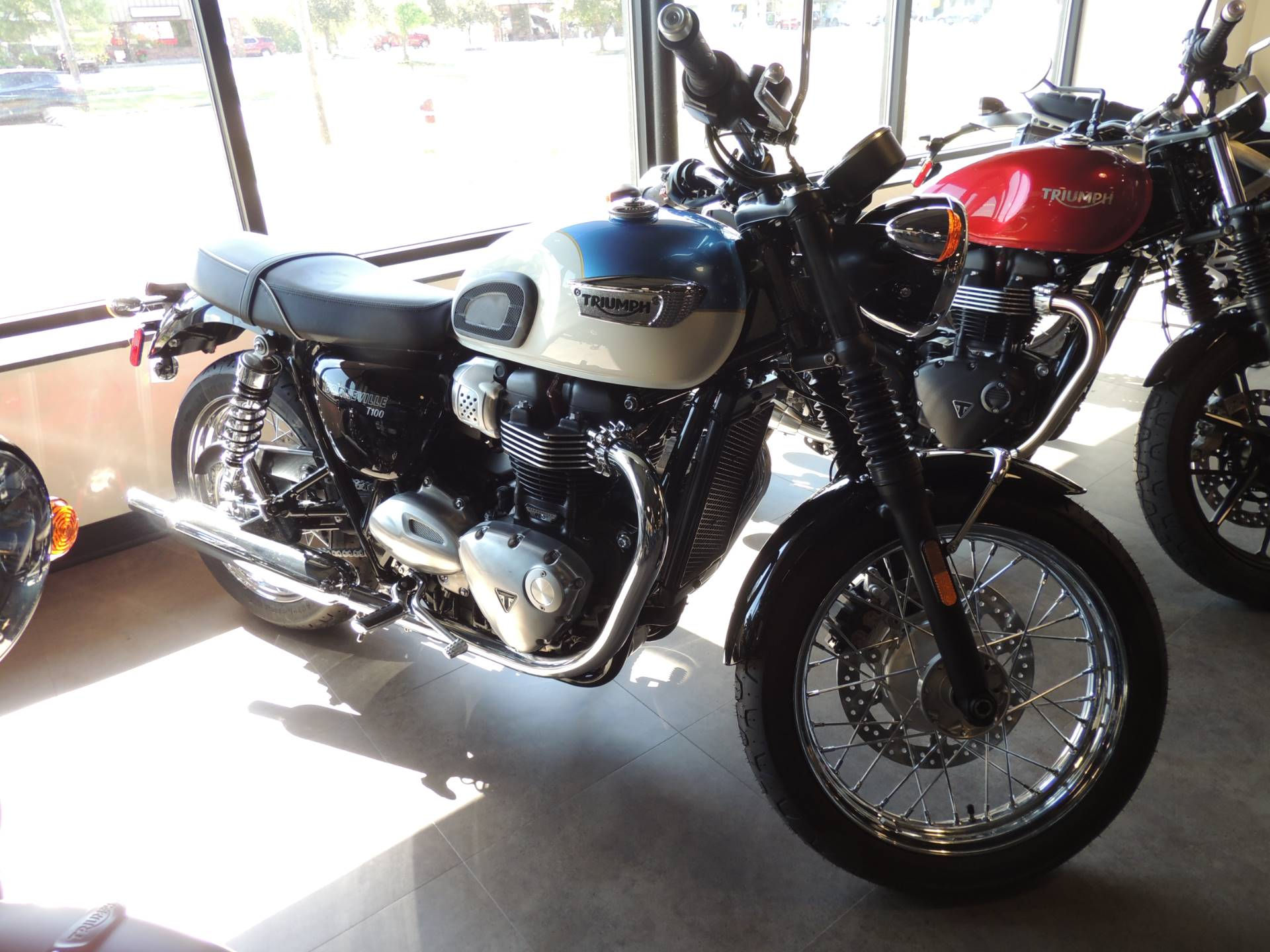 2020 Triumph Bonneville T100 in Shelby Township, Michigan - Photo 1