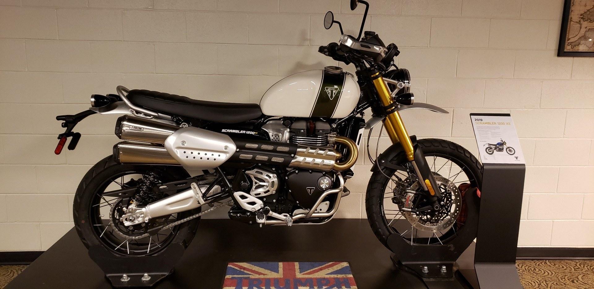 New 2019 Triumph Scrambler 1200 Xe Motorcycles In Shelby Township Mi