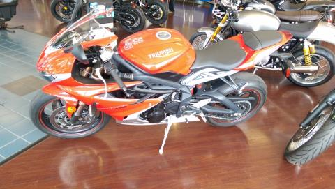 2016 Triumph Daytona 675 ABS in Shelby Township, Michigan