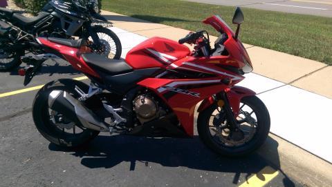 2016 Honda CBR500R in Shelby Township, Michigan