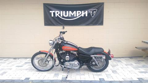 2009 Harley-Davidson Sportster® 1200 Custom in Shelby Township, Michigan