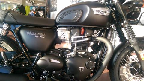 2017 Triumph Bonneville T100 Black in Shelby Township, Michigan