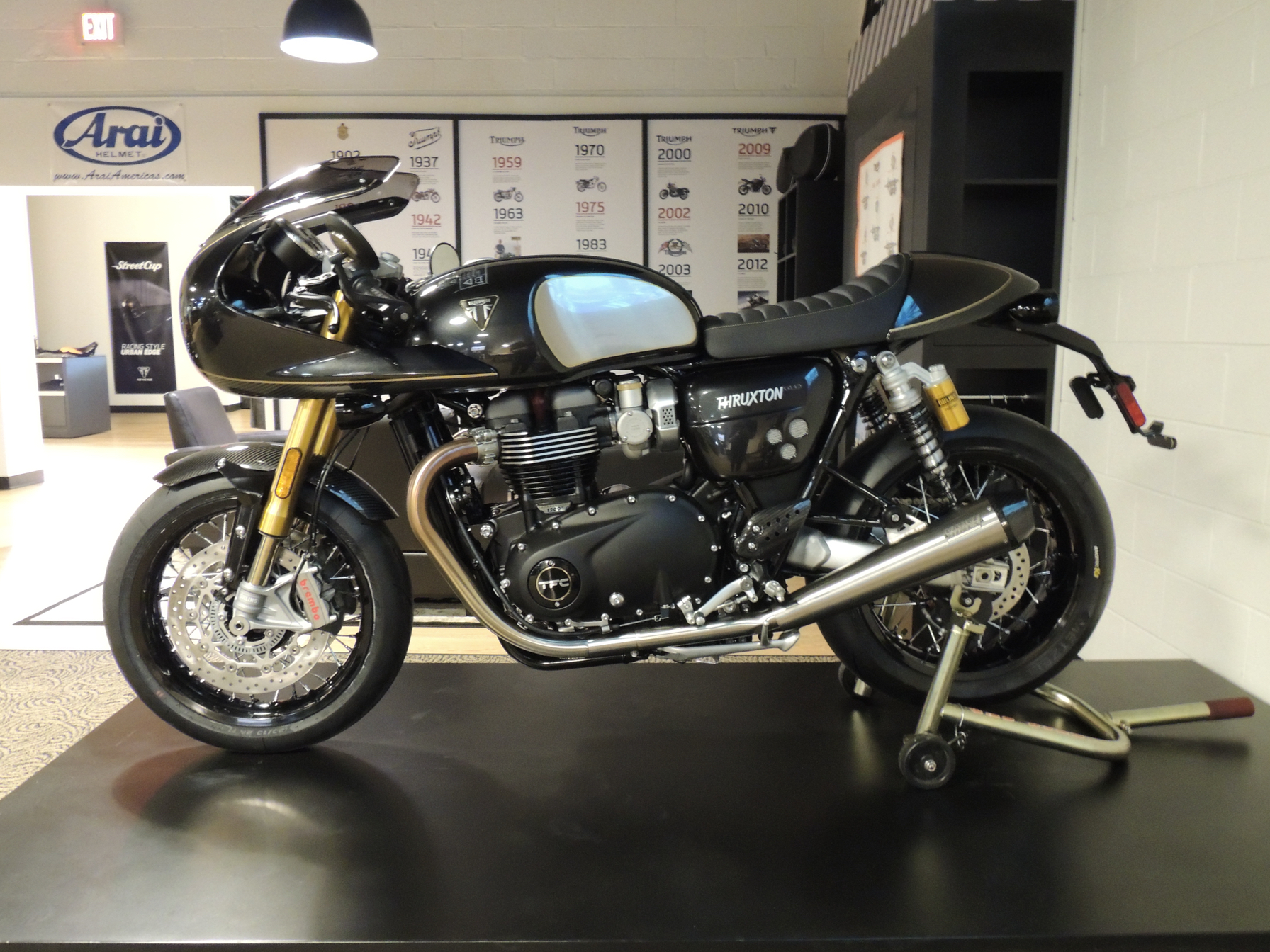 2020 Triumph Thruxton TFC in Shelby Township, Michigan - Photo 1