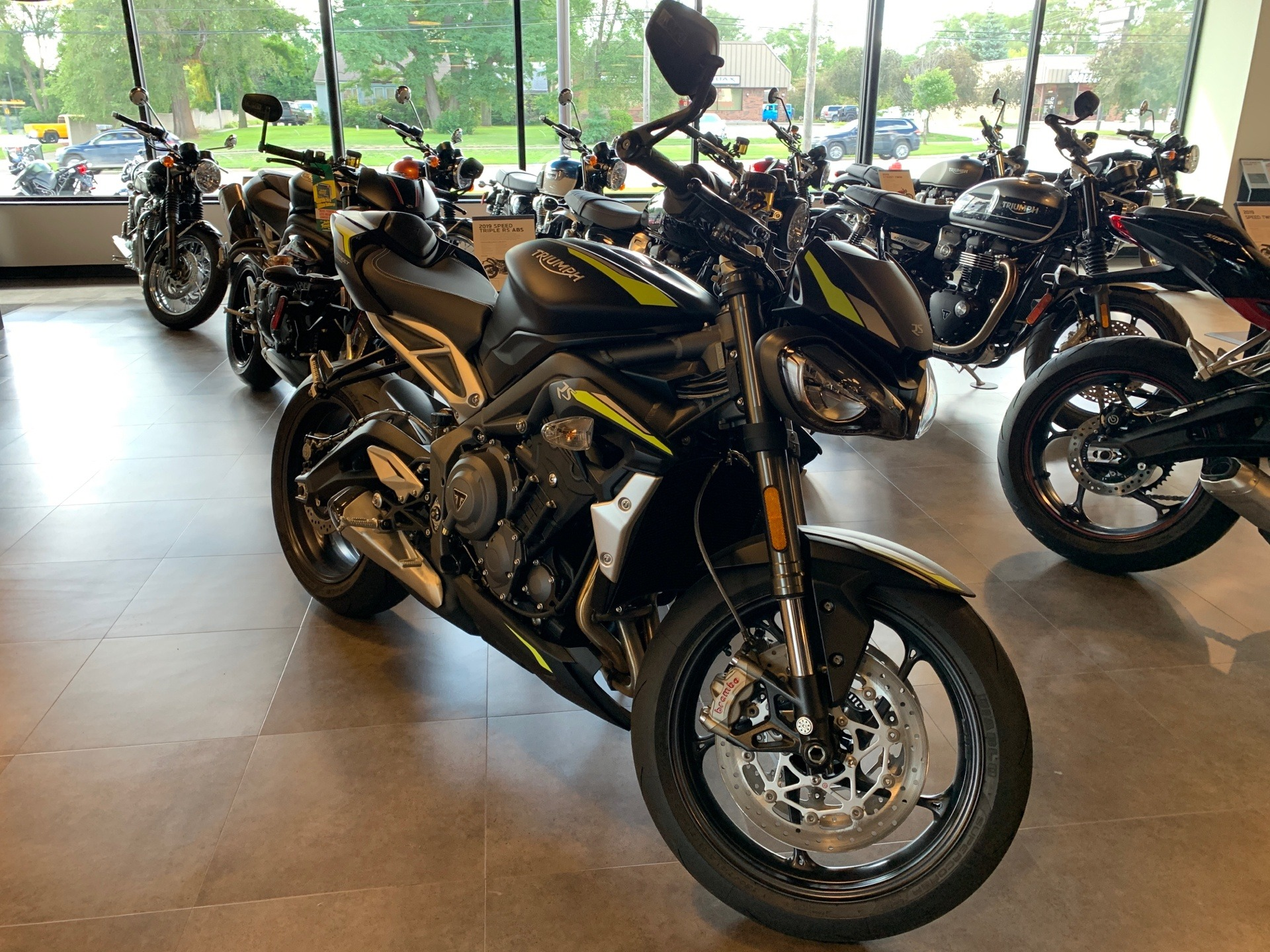 2020 Triumph Street Triple RS in Shelby Township, Michigan - Photo 1