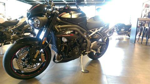2018 Triumph Speed Triple RS in Shelby Township, Michigan