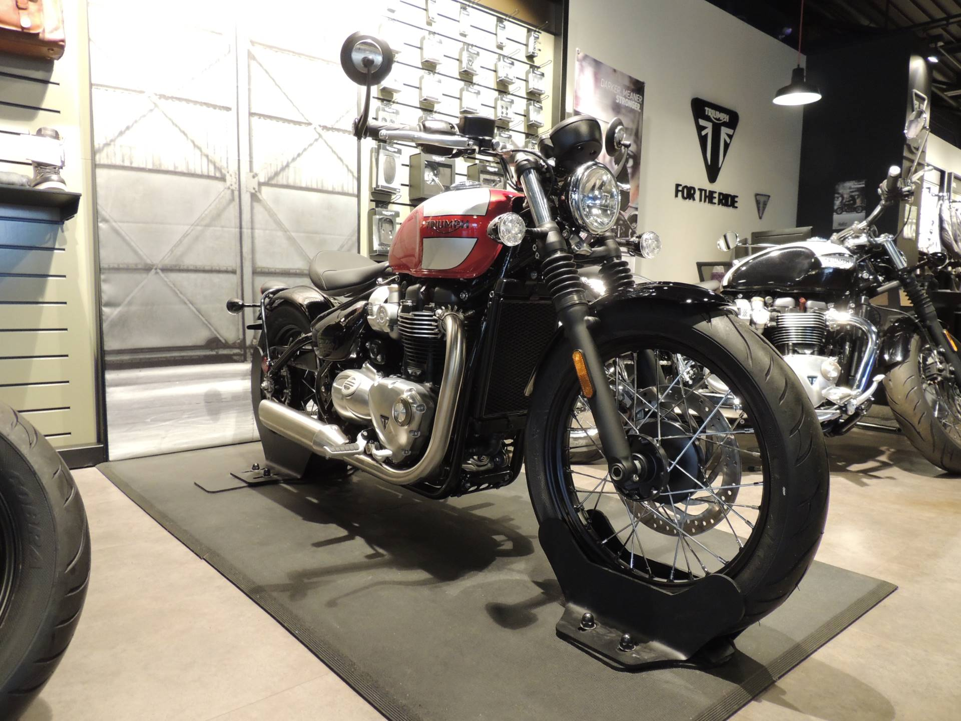 2019 Triumph Bonneville Bobber in Shelby Township, Michigan - Photo 1