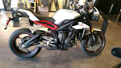 2018 Triumph Street Triple R in Shelby Township, Michigan