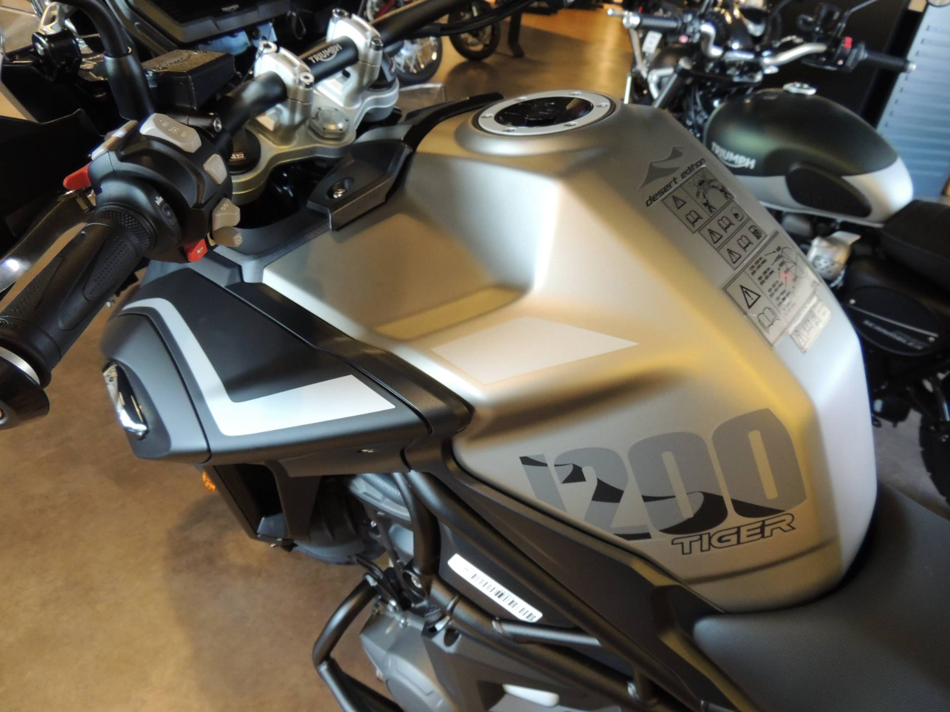 2020 Triumph Tiger 1200 Desert Edition in Shelby Township, Michigan - Photo 10