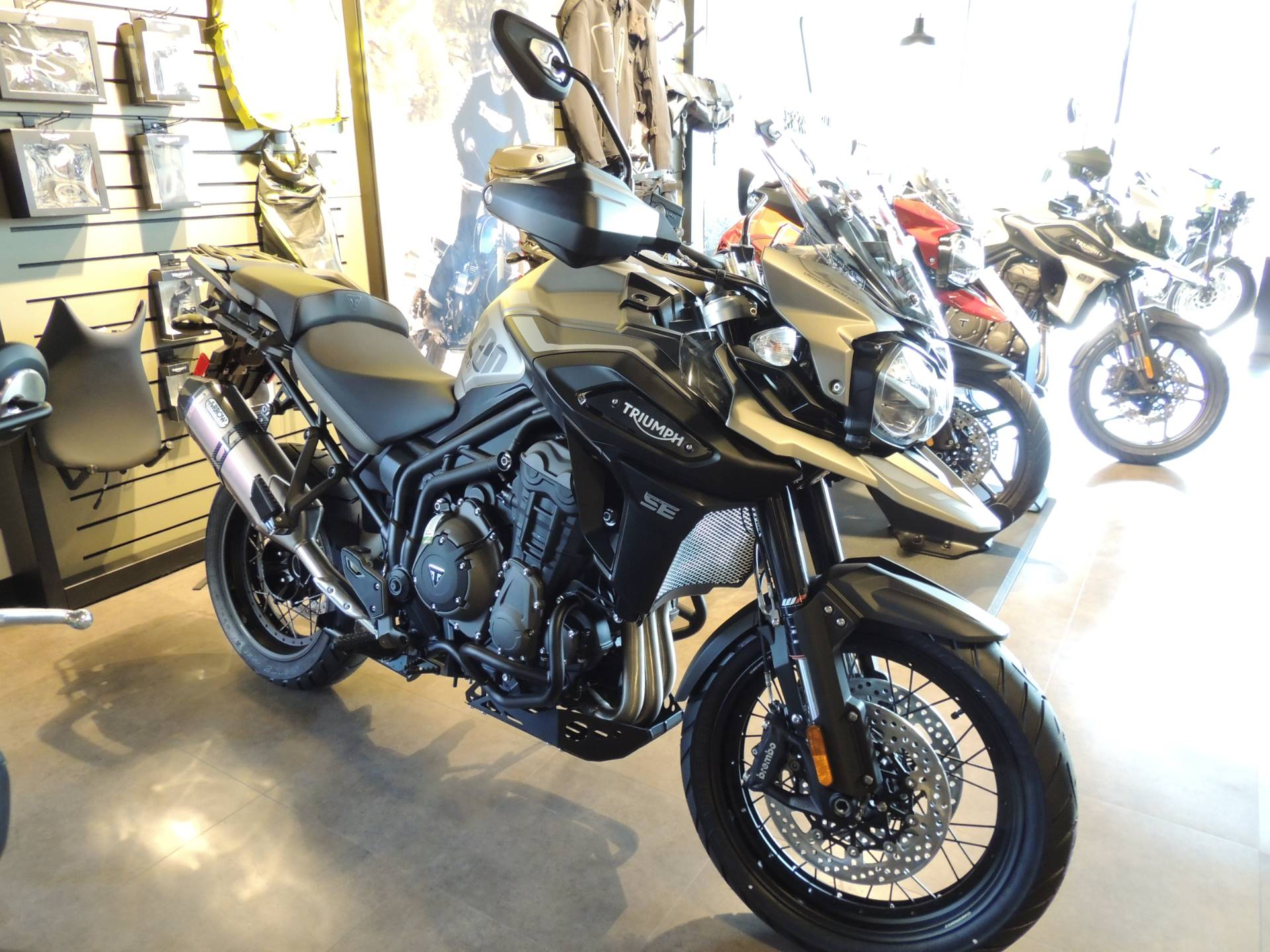 2020 Triumph Tiger 1200 Desert Edition in Shelby Township, Michigan - Photo 1