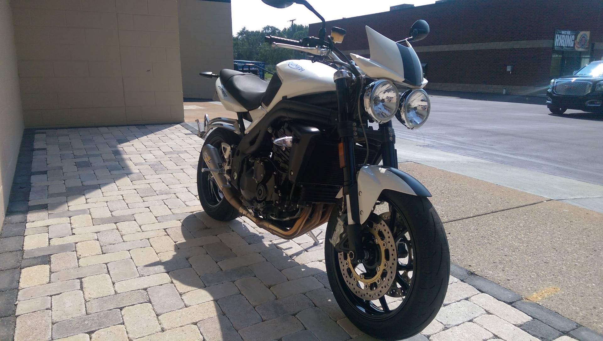 2008 Triumph Speed Triple in Shelby Township, Michigan