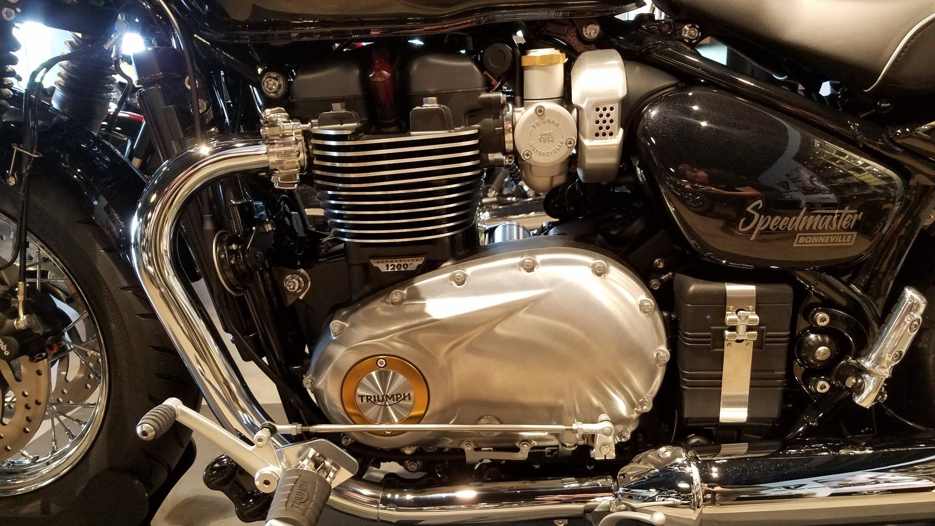 2018 Triumph Bonneville Speedmaster in Shelby Township, Michigan - Photo 5