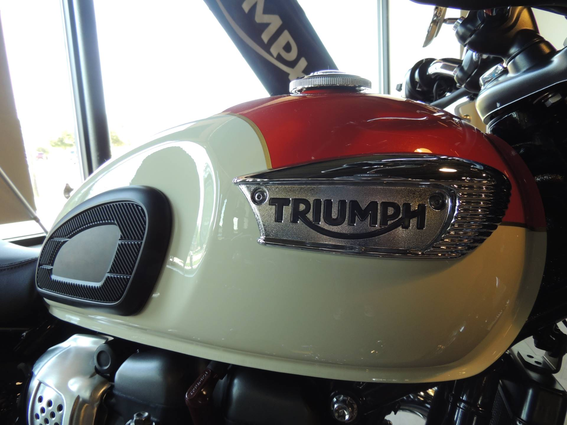 2019 Triumph Bonneville T100 in Shelby Township, Michigan - Photo 7