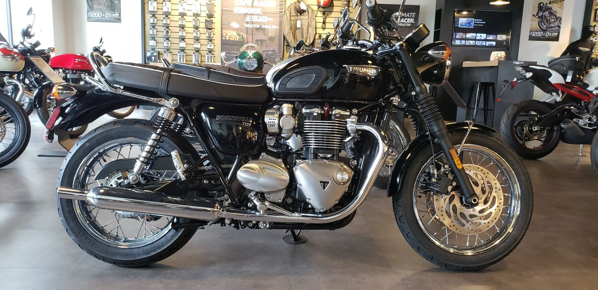 2018 Triumph Bonneville T120 in Shelby Township, Michigan - Photo 1