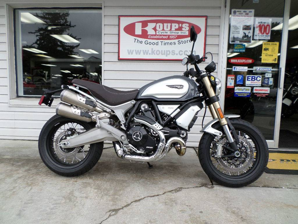 New 2018 Ducati Scrambler 1100 Special Motorcycles In Harrisburg Pa