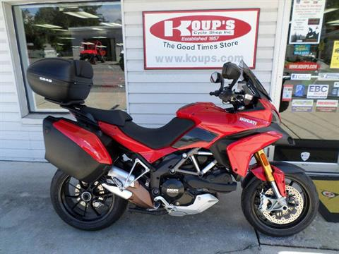 2011 Ducati Multistrada 1200 S Touring in Harrisburg, Pennsylvania