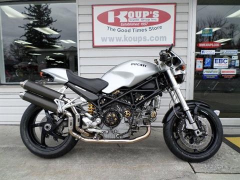 2007 Ducati Monster S2R 1000 in Harrisburg, Pennsylvania