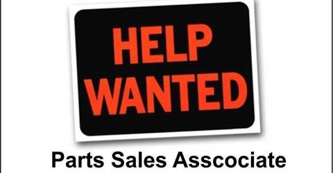 Parts Sales Motorcycle Associate  - Seasonal and Full Time!