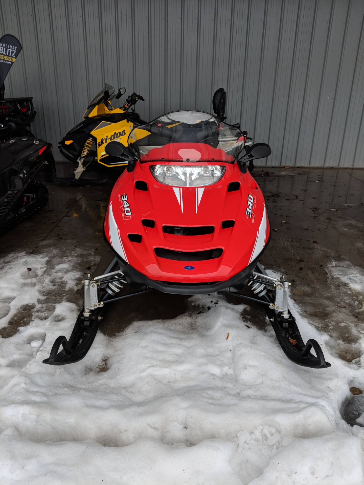 2008 Polaris 340 in Phoenix, New York