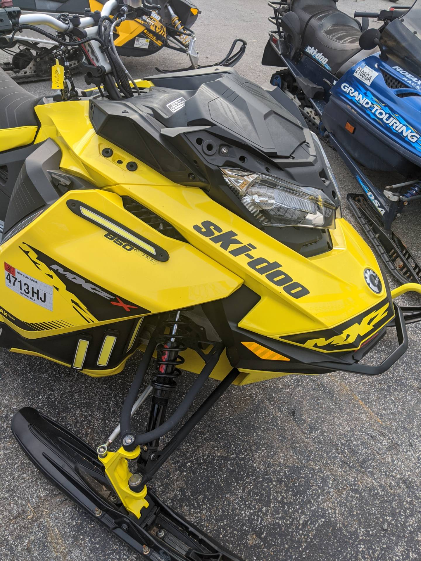 2019 Ski-Doo MXZ X 850 E-TEC Ripsaw 1.25 in Phoenix, New York - Photo 1