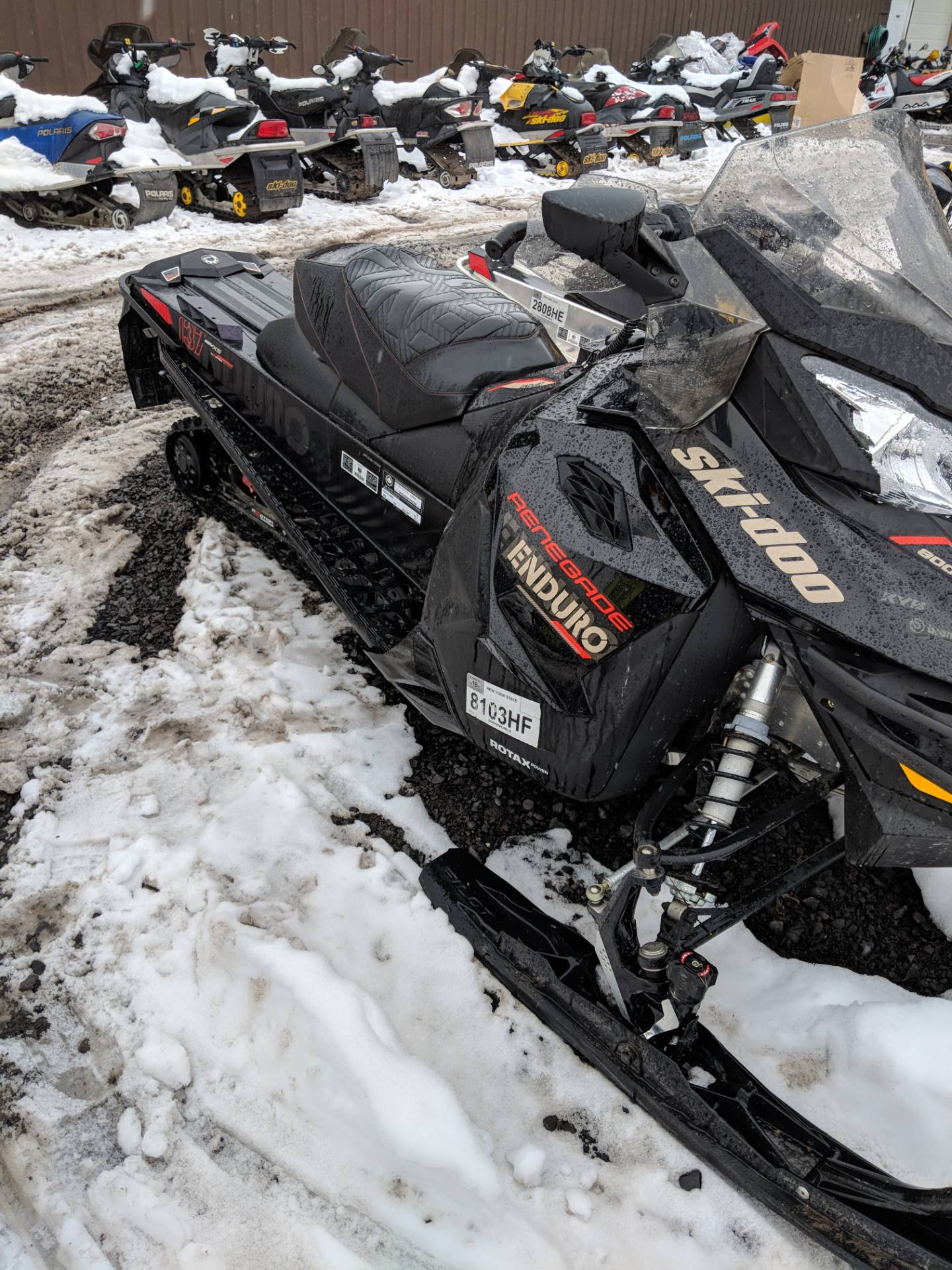 2017 Ski-Doo Renegade Enduro 800R E-TEC E.S. in Phoenix, New York
