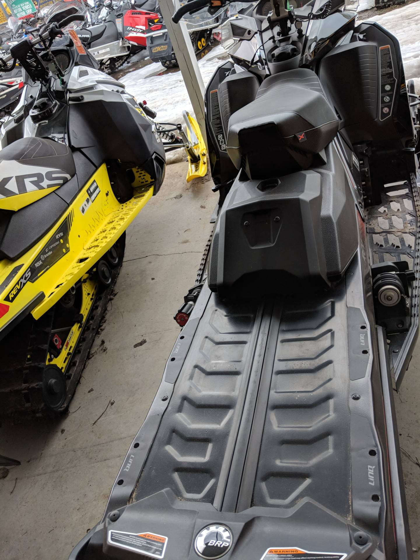 2018 Ski-Doo Renegade X 850 E-TEC ES w/ Adj. Pkg Ice Ripper XT 1.25 in Phoenix, New York - Photo 3