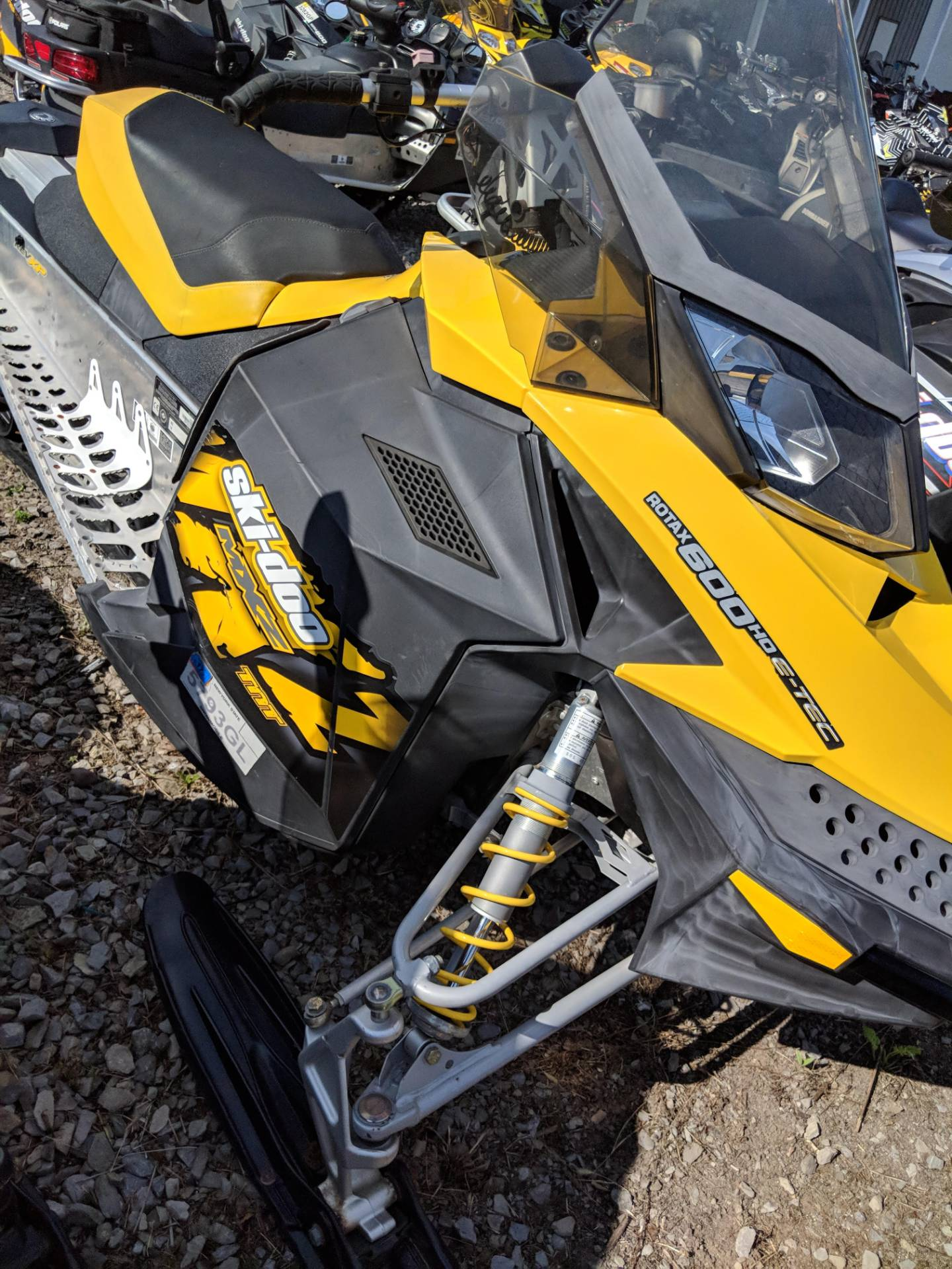 2009 Ski-Doo MX Z TNT 600 H.O. E-TEC in Phoenix, New York - Photo 3