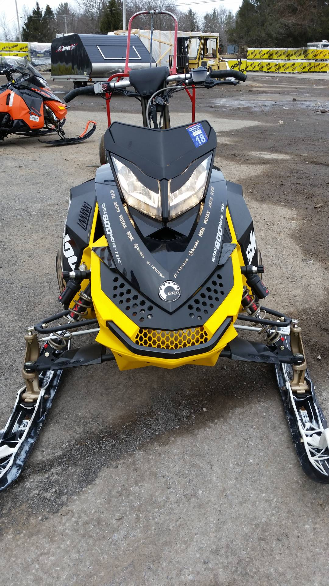 2012 Ski-Doo MX Z® X-RS® E-TEC® 600 H.O. ES QAS in Phoenix, New York