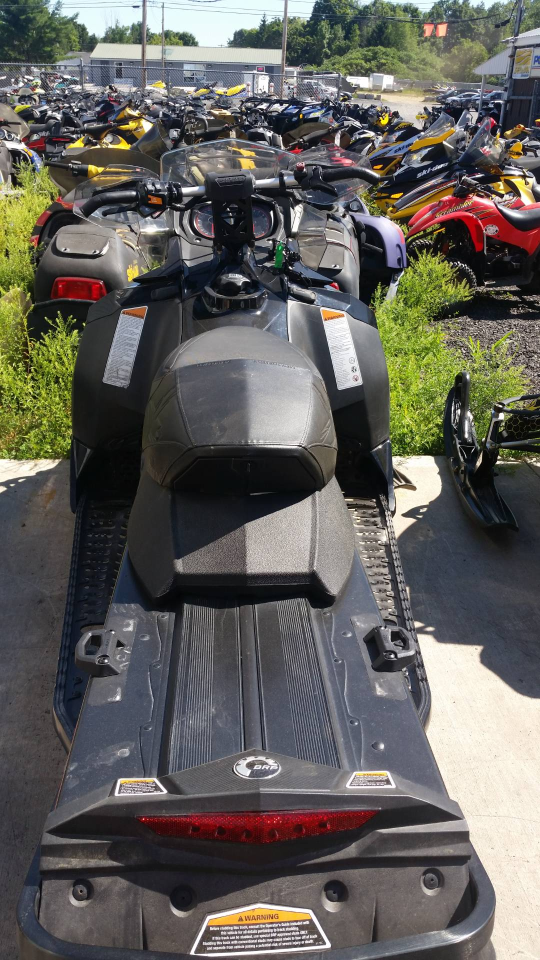 2016 Ski-Doo MX Z X 600 H.O. E-TEC E.S., Ice Ripper XT in Phoenix, New York