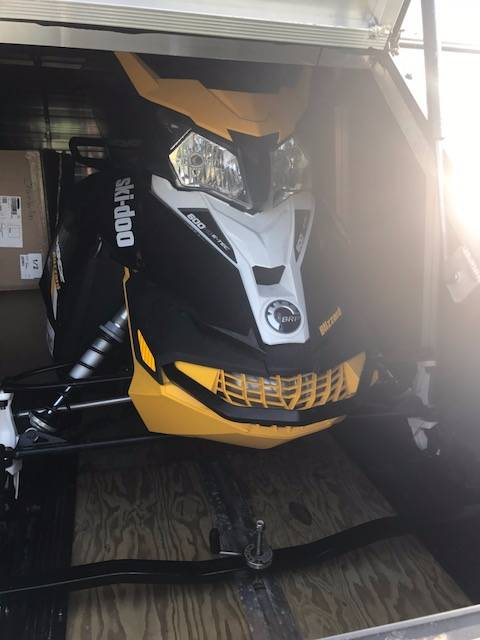 2017 Ski-Doo MXZ Blizzard 600 H.O. E-TEC in Phoenix, New York