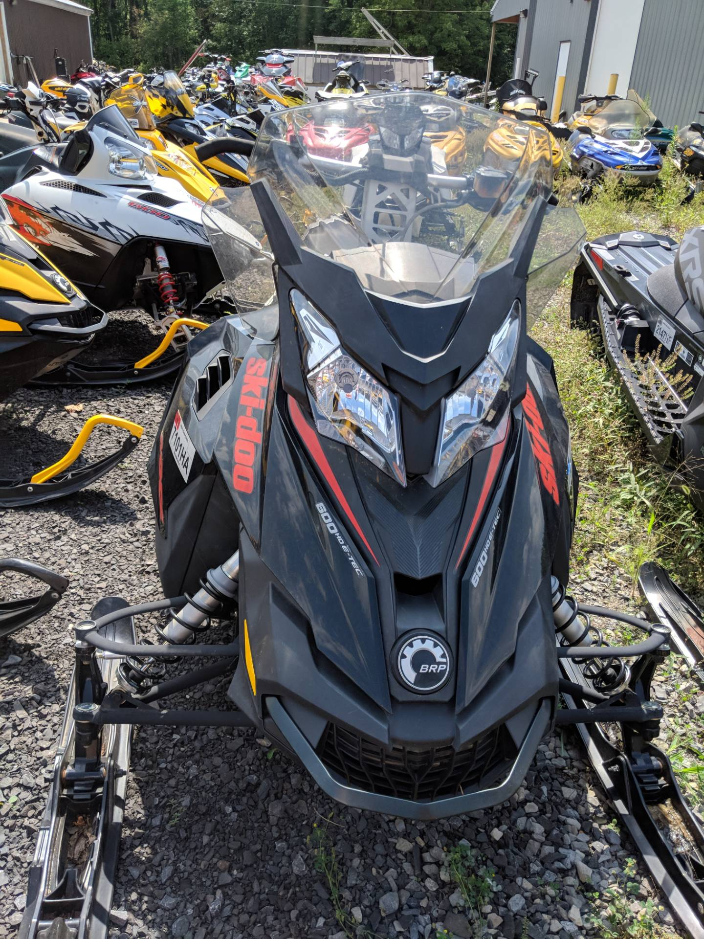 2015 Ski-Doo MX Z® TNT™ E-TEC® 600 H.O. in Phoenix, New York