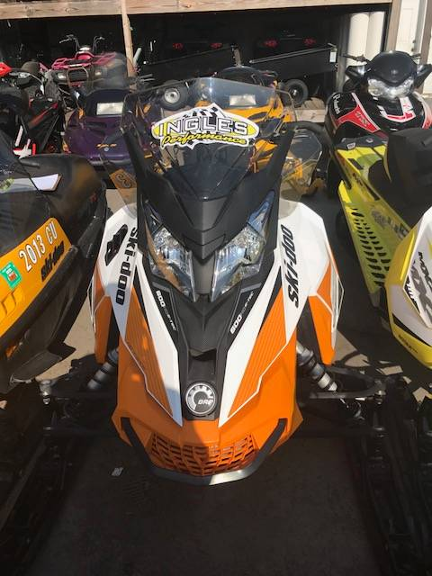 2017 Ski-Doo Renegade Adrenaline 600 H.O. E-TEC E.S. in Phoenix, New York