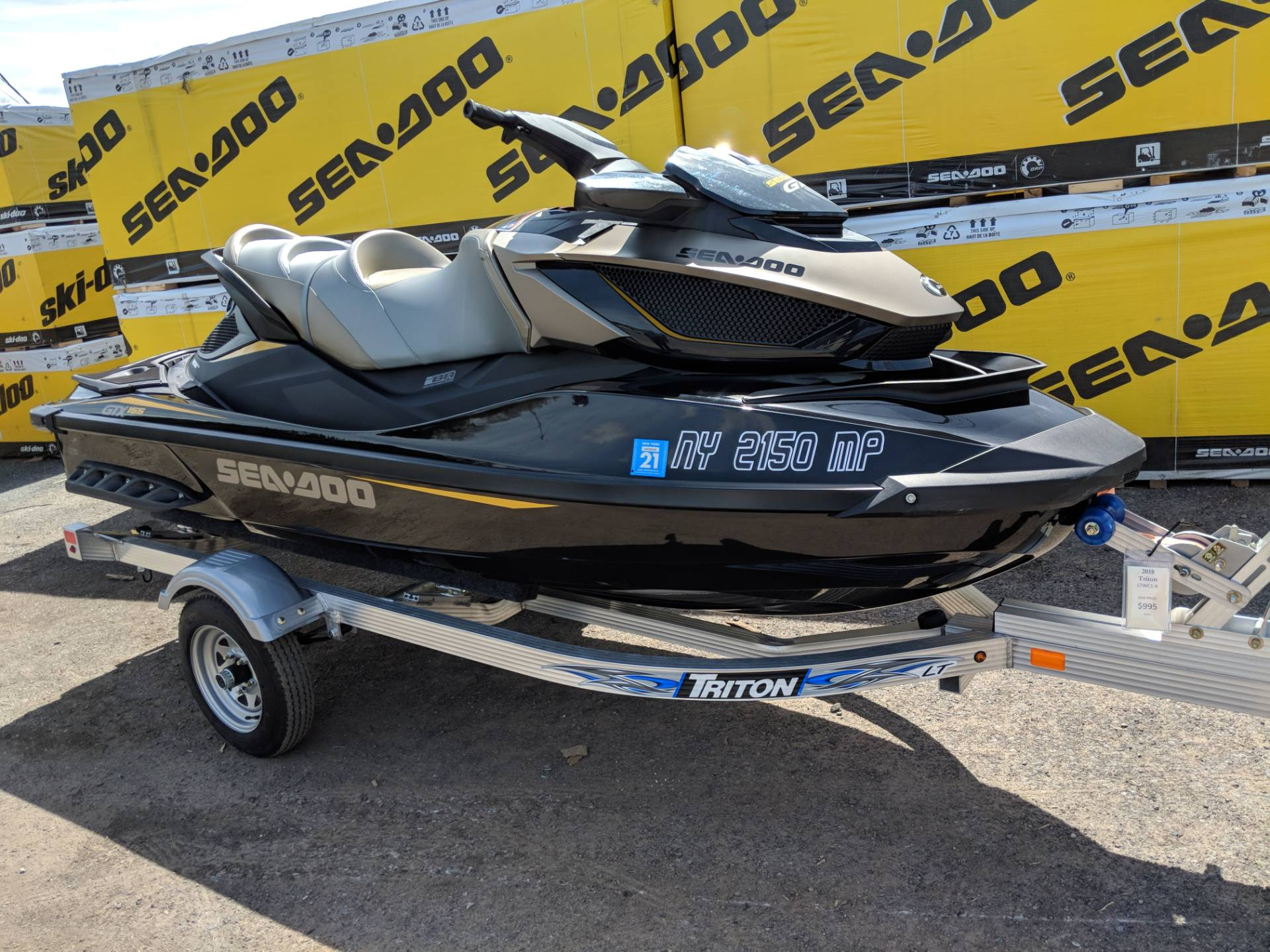 2017 Sea-Doo GTX S 155 in Phoenix, New York - Photo 1
