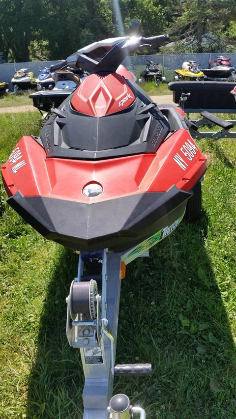 2016 Sea-Doo Spark 3up 900 H.O. ACE w/ iBR & Convenience Package Plus in Phoenix, New York