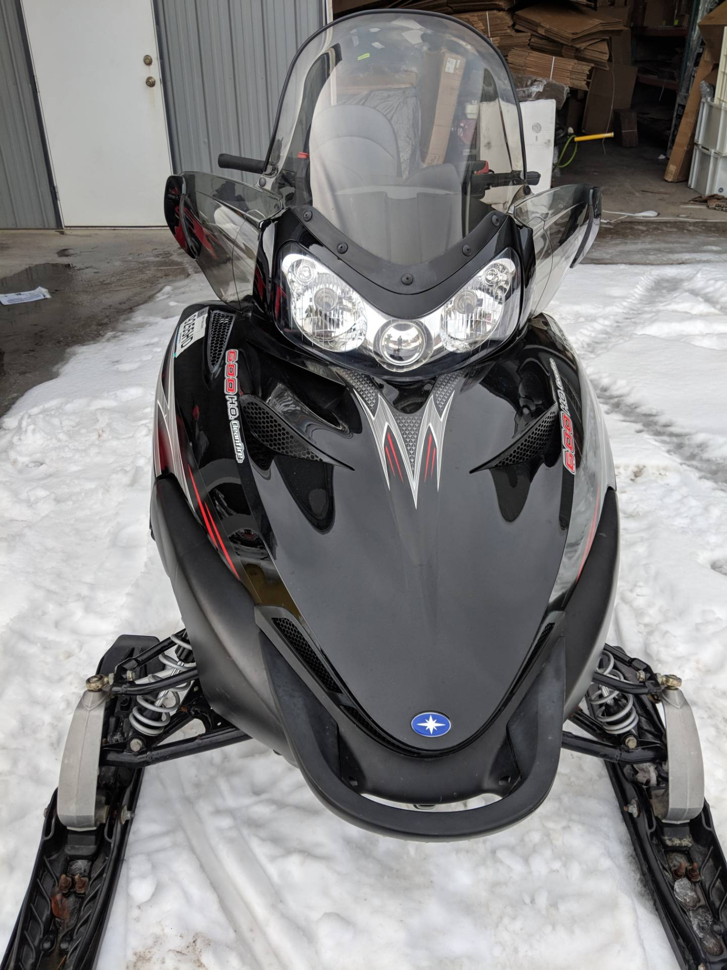 2007 Polaris 600 HO CFI IQ Touring in Phoenix, New York