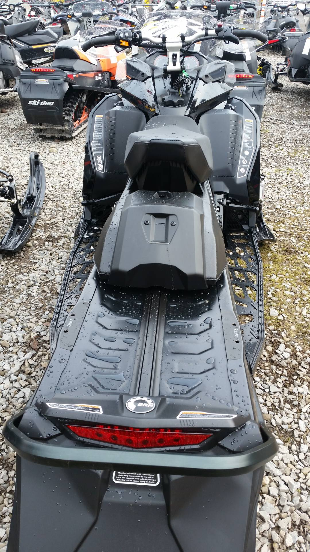 2017 Ski-Doo MXZ X 850 E-TEC Ice Ripper XT in Phoenix, New York