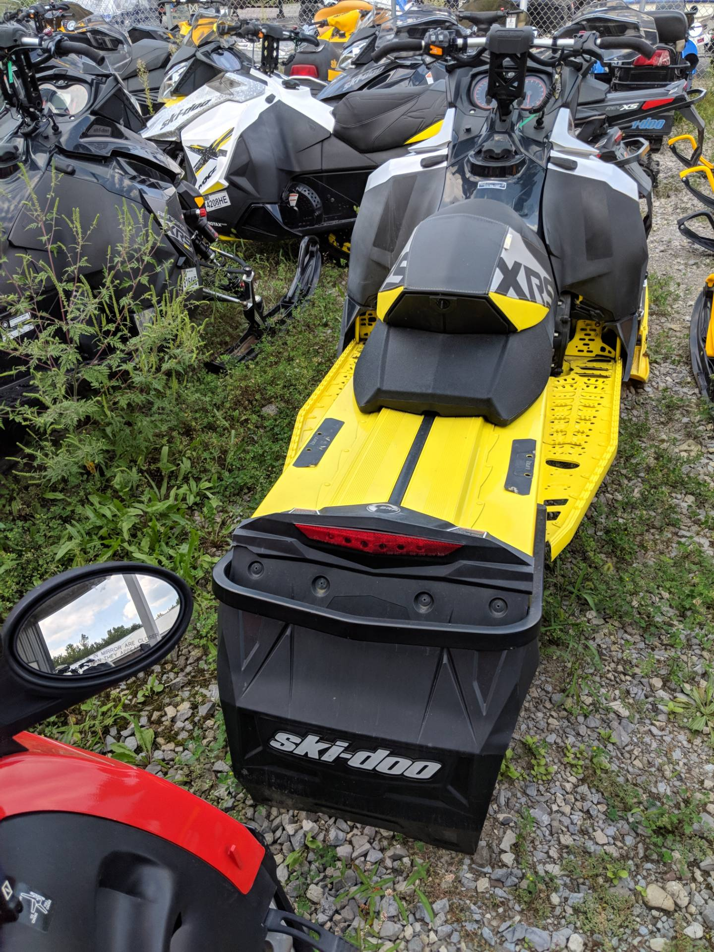 2016 Ski-Doo MX Z X-RS 800R E-TEC E.S., Ripsaw in Phoenix, New York