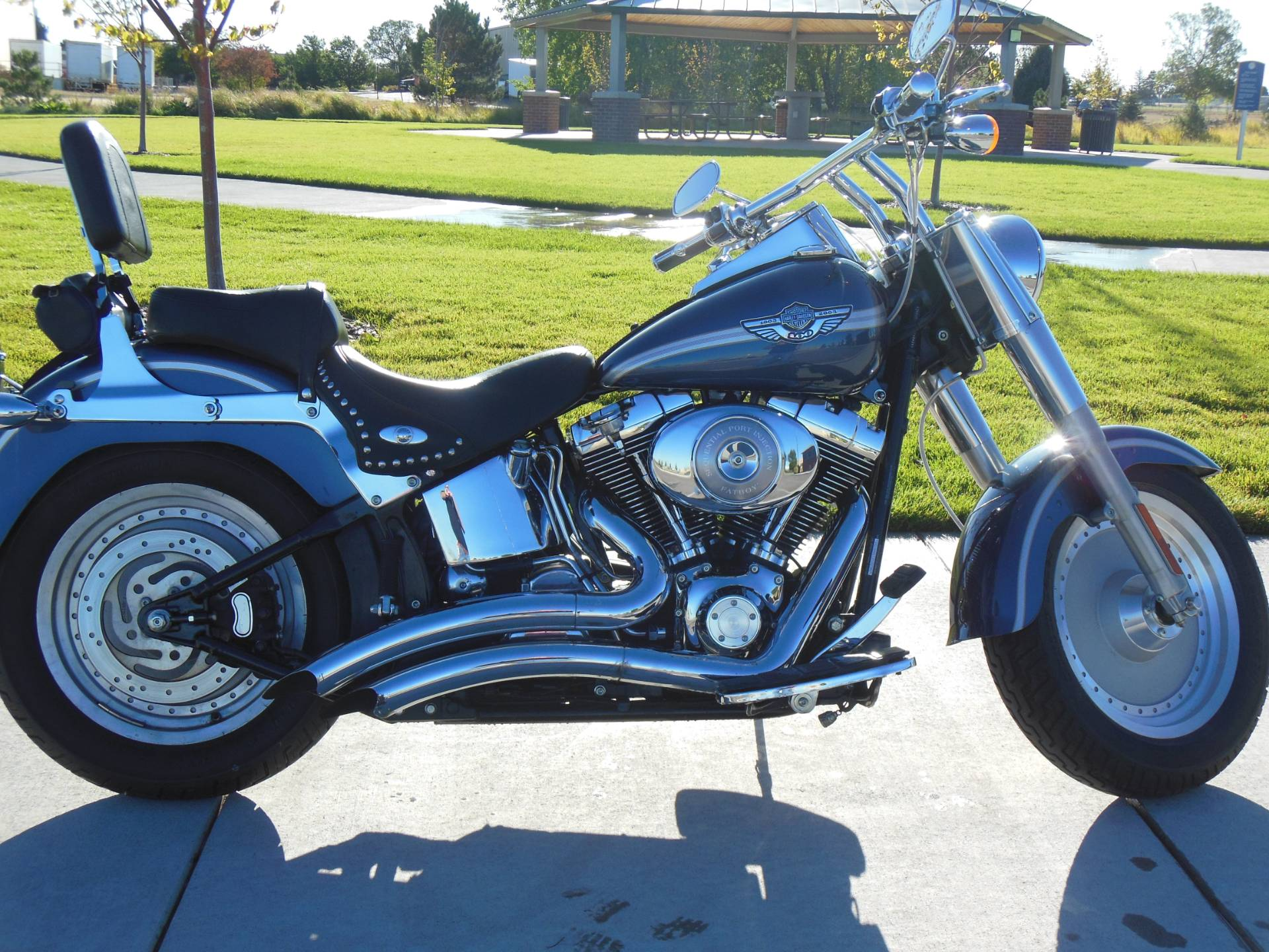 2003 Harley-Davidson FLSTF/FLSTFI Fat Boy® in Aurora, Colorado