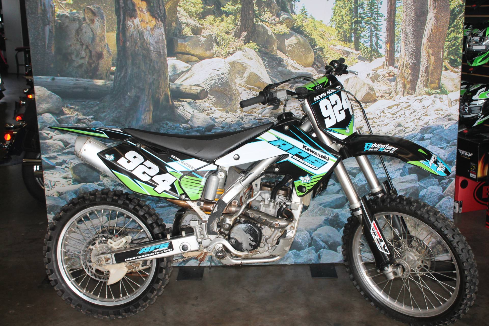 2005 Kawasaki KX250F in Elizabethtown, Kentucky