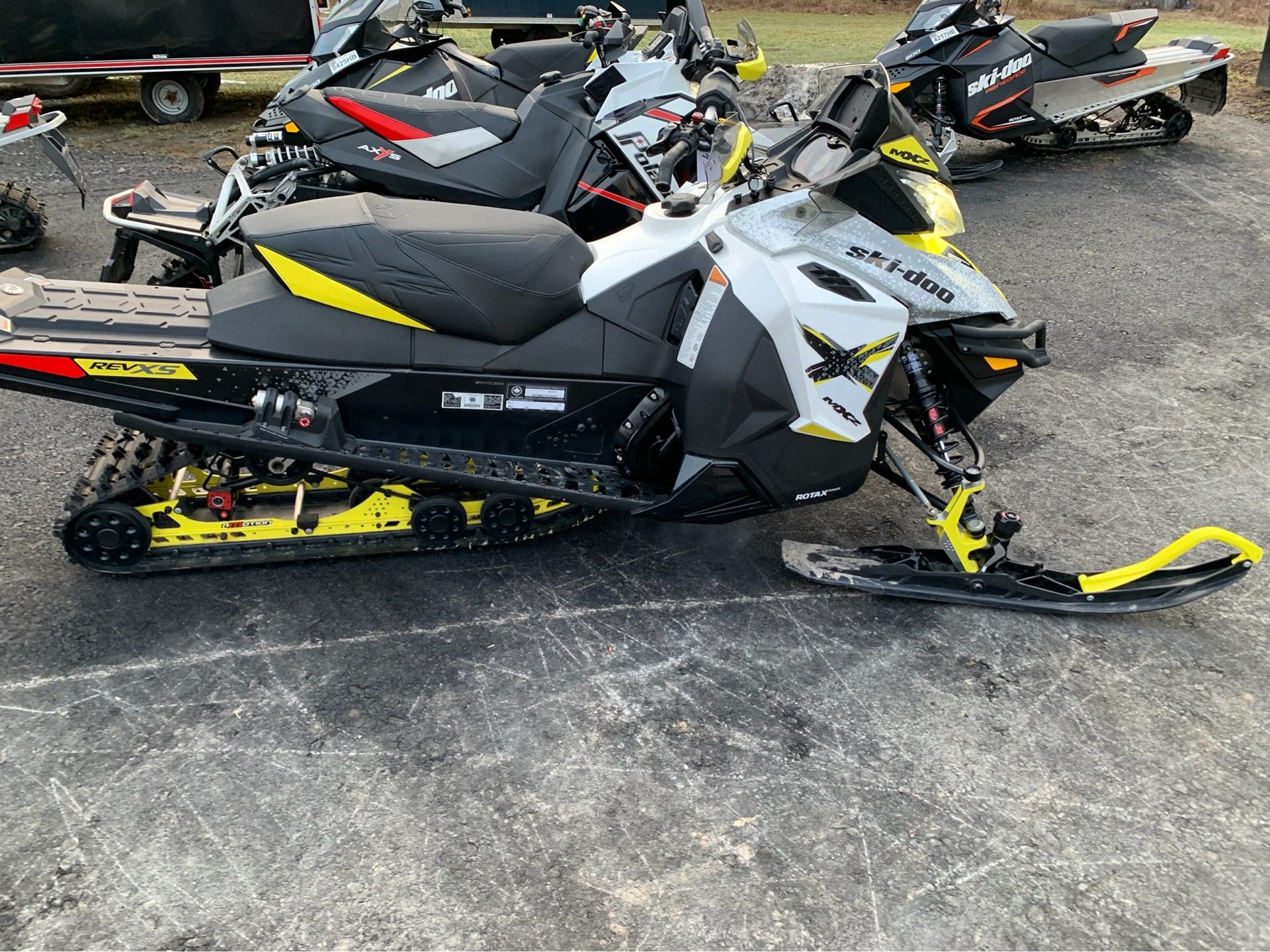 2016 Ski-Doo MX Z X 1200 4-TEC E.S.  w/ Adj. pkg, Ice Ripper XT in Weedsport, New York