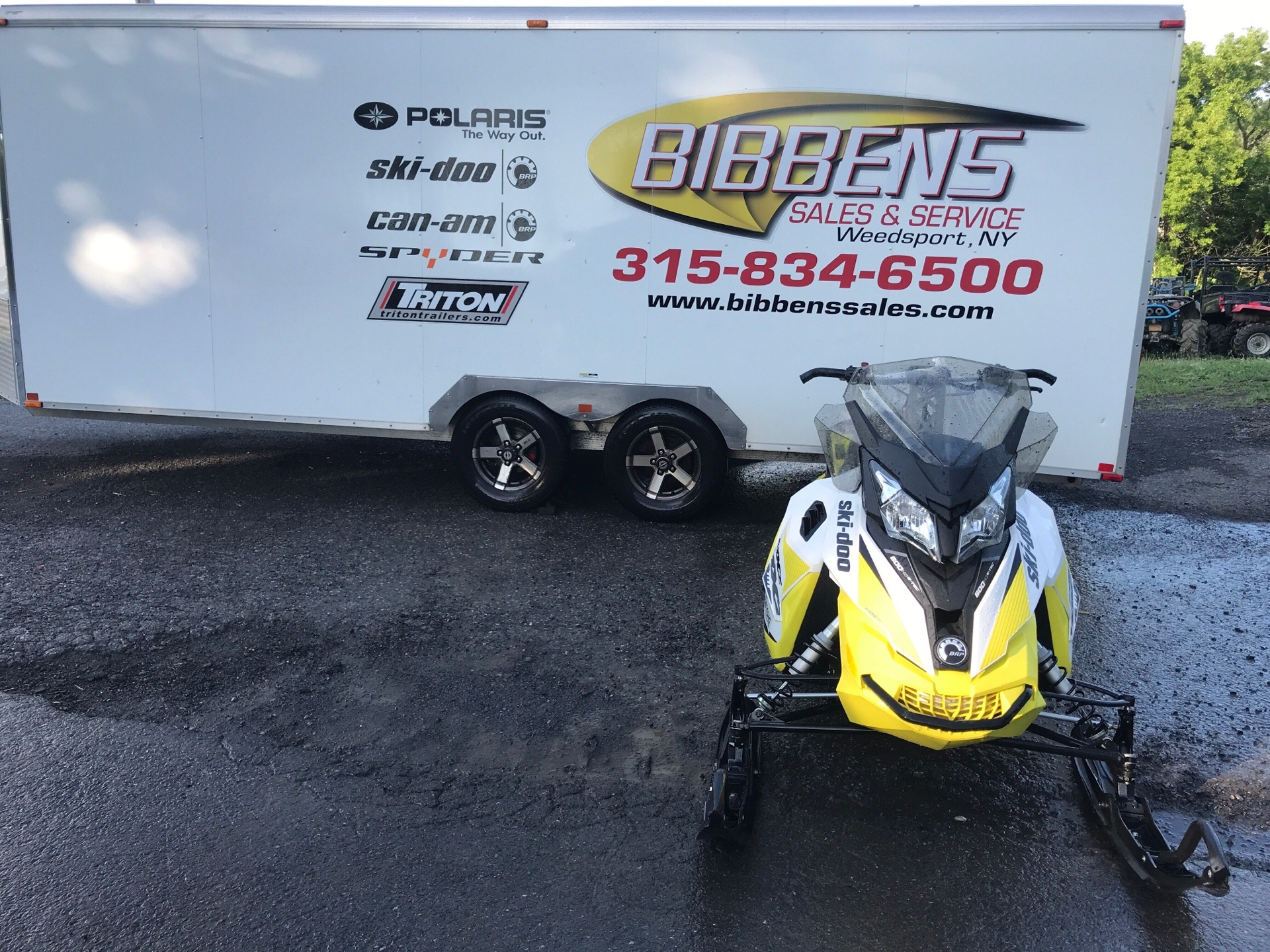 2017 Ski-Doo MXZ TNT 600 H.O. E-TEC for sale 136157