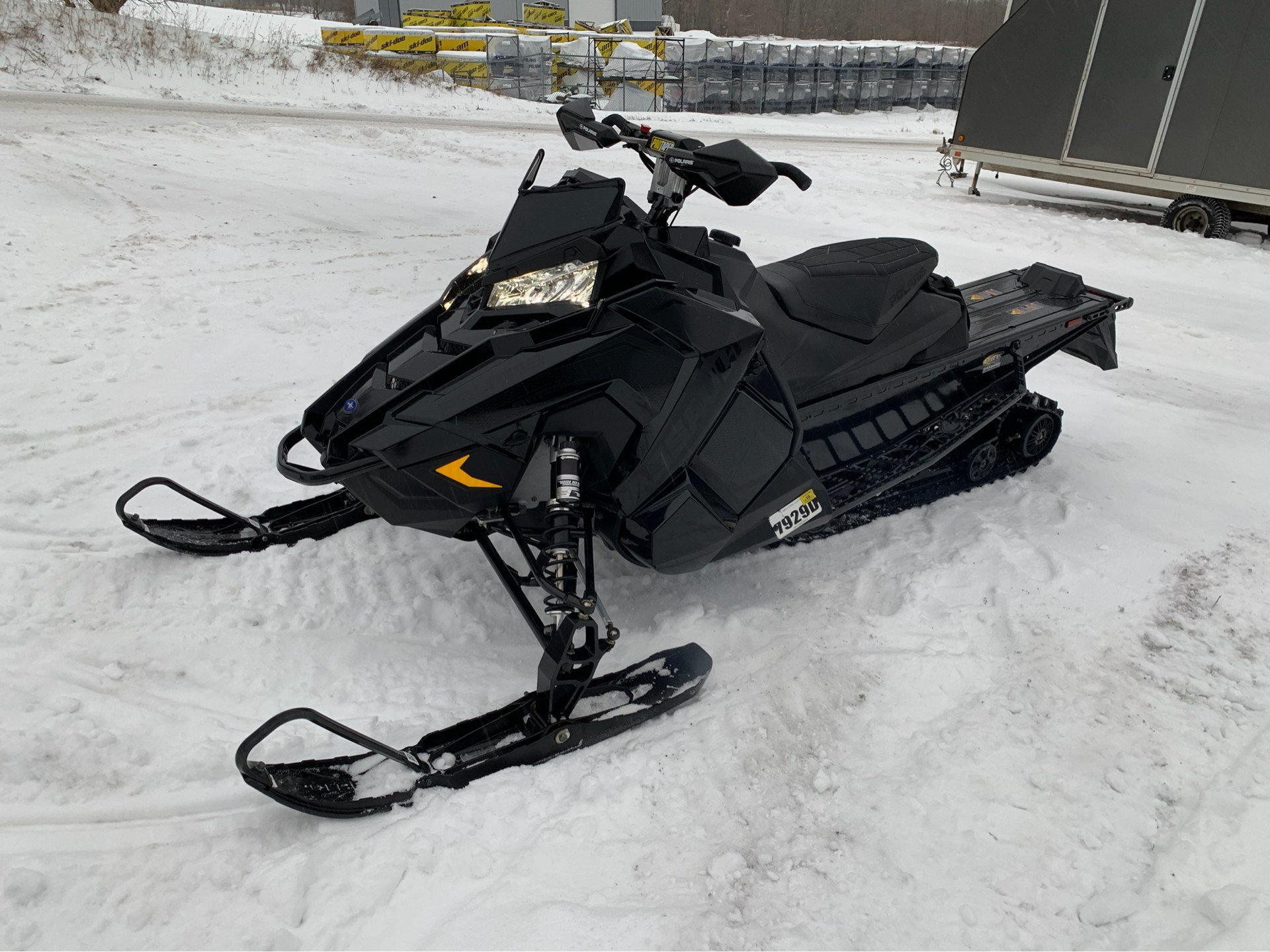 2019 Polaris 800 Switchback Assault 144 SnowCheck Select 3