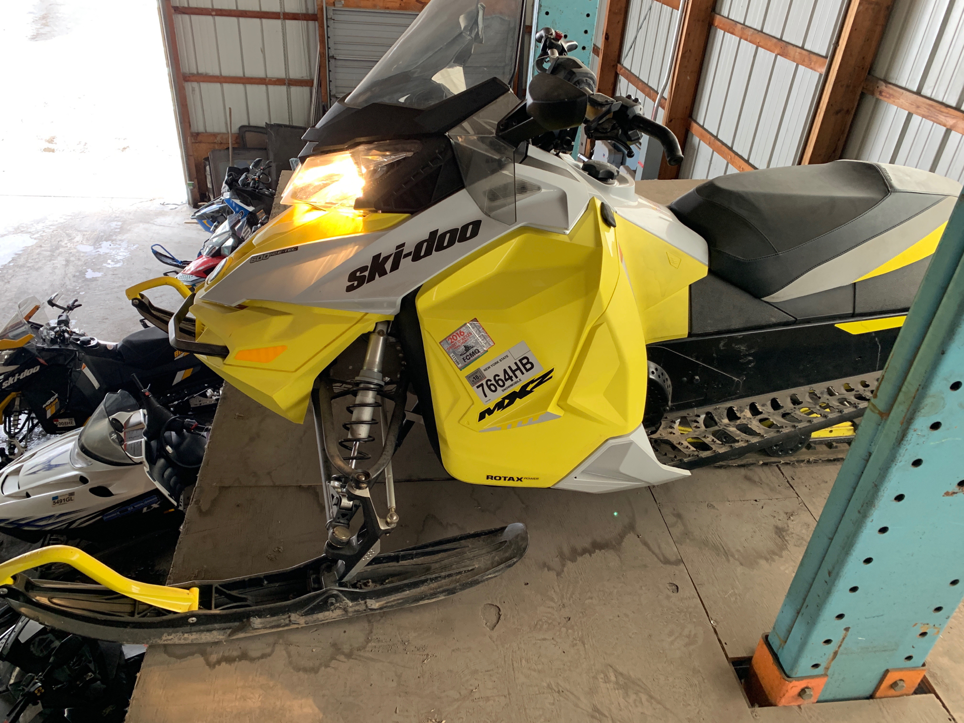2015 Ski-Doo MX Z® TNT™ E-TEC® 600 H.O. in Weedsport, New York